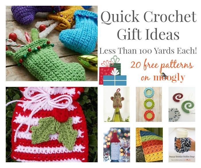 Quick Crochet Ideas : .com/crochet-gift-ideas-100-yards/ - 20 Quick Crochet Gift Ideas ...